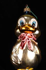 christopher radko quackers sailor duck glass ornament 95 261 0 by