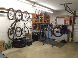 bike storage at home garage shed ideas ridemonkey forums