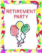 retirement party clipart clipart collection retirement cards