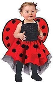 Halloween Costumes 1 2 Baby Toddler Girls Ladybird Ladybug Animal Mini Beast Fancy Dress