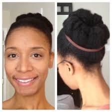Natrual Hairstyles Natural Hair Styles Natural Hair Bun Youtube