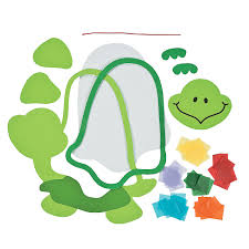 colorful turtle tissue paper craft kit tissue paper crafts