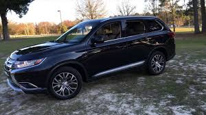 black mitsubishi outlander best detailed walkaround 2016 mitsubishi outlander 3 0 gt s awc 4