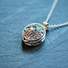 box lockets stash necklace sterling silver snuff necklace prayer box