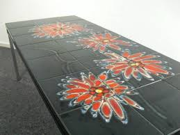 ceramic tile table top vintage tiled coffee table table ceramic tile patio table glass tile
