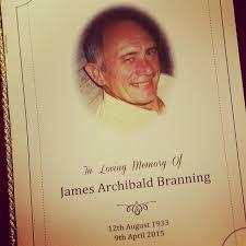 funeral booklet image jim branning funeral booklet 2015 jpg eastenders wiki