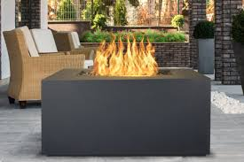the outdoor plus pismo concrete propane natural gas fire pit wayfair