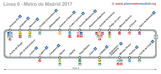 Metro Madrid Map by