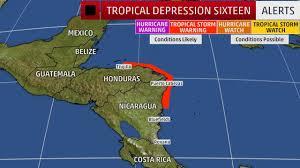 tropical depression sixteen forecast to hit u s gulf coast as
