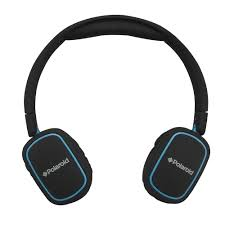 Light Blue Beats Polaroid Foldable And Portable On Ear Headphone With Microphone