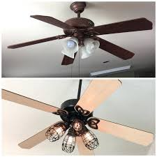 Ceiling Fan With Cage Light Edison Bulb Ceiling Fan Ceiling Fan Edison Bulb Ceiling Fan Light