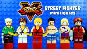 lego honda lego street fighter v ストリートファイターv knockoff minifigures