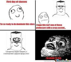 First Day Of Class Meme - first day of classes by drunk meme center