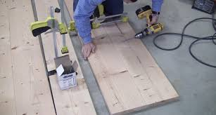 How To Build A Cheap End Table how to build a farmhouse table