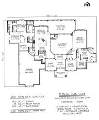 2800 square foot house plans 3 car garage floor plans open house plan with 3 car garage