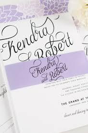 Wedding Invitations Purple Statement Wedding Invitations In Purple U2013 Wedding Invitations