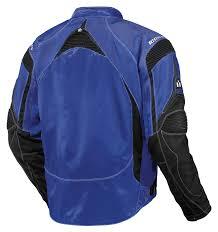 blue motorcycle jacket icon contra jacket revzilla