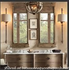 Bathroom Sconces Restoration Hardware Restoration Hardware Bathroom One Last Inspiration Picture From