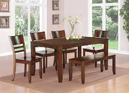 tremendous dining room table with bench seat 86 within home style