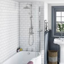 the bath co dulwich rain can shower head riser shower system