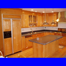 kitchen small kitchen design idea with l shaped walnut kitchen