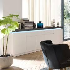 Wohnzimmer Beleuchtung Rustikal Wohnzimmer Sideboard Croscon Mit Led Beleuchtung Pharao24 De