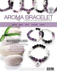 bracelet make images Aroma bracelet make take workshop kit amethyst eo tools jpg