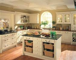 classic kitchen style ideas with open wicker storage kitchen