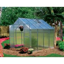 Hobby Greenhouses Riverstone Industries Monticello 8 X 16 Ft Greenhouse Hayneedle