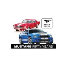 ford mustang metal wall mustang 50 years 12 x16 tin sign products
