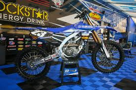 yamaha motocross bikes chad reed bikes of supercross 2017 motocross pictures vital mx