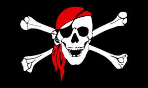 pirate flag bones free vector graphic on pixabay