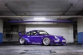 rwb porsche 2017 ultraviolet purple rwb 993 brixton forged wheels