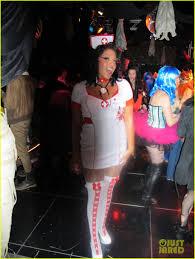 kate walsh u0027s halloween costume morticia addams photo 2595282