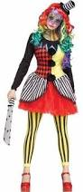 Ladies Clown Halloween Costumes Horror Clown Womens Costume Spirithalloween