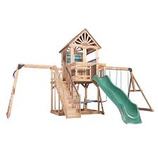 Lowes Swing Set Shop Backyard Discovery Backyard Discovery Oceanview Residential