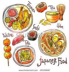 illustration cuisine set cuisine tom yum stock vector 789558265