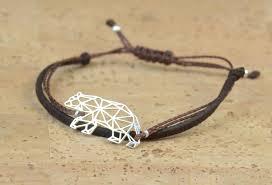 mens bracelet charms images Sterling silver bear charm bracelet mens bracelet jpg