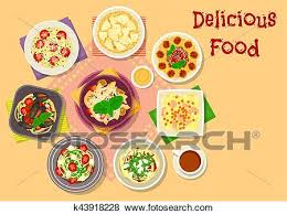 cuisine italienne pates clipart cuisine italienne pâtes spaghetti et risotto icône