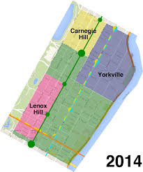 Harlem Map New York by How The Upper East Side Grew Out Of Three Historic Enclaves