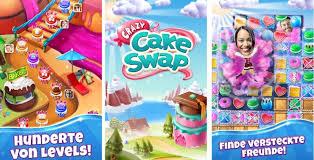 das neue zynga spiel crazy cake swap