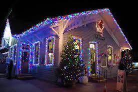 12 christmas towns near asheville nc