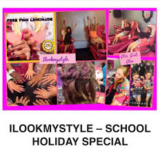 kids parties hairdressing clothing and cafe i look my style