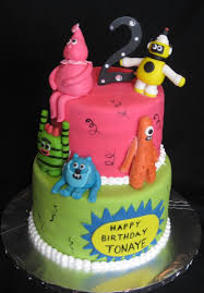 Yo Gabba Gabba Images by The Yo Gabba Gabba Cake Is Great For Birthdays