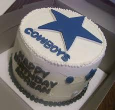 cowboys cake
