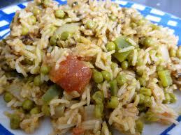 cuisiner poivrons verts riz au poivron vert et petits pois le bloblog à nous