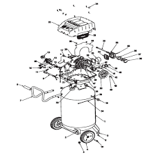 husky f3s33vwd 516 051 air compressor parts