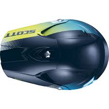 motocross helmet design motocross helmet scott 350 pro dirt blue green insportline