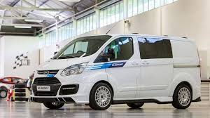 van ford wrc inspired ford transit by m sport revealed