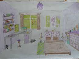 dessiner une chambre en perspective dessin perspective les petits trucs de canelle